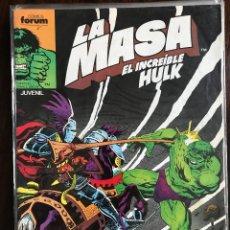 Cómics: LA MASA EL INCREIBLE HULK 42 VOL. 1 COMICS FORUM MARVEL. Lote 124021551
