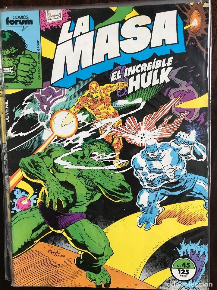 LA MASA EL INCREIBLE HULK 45 VOL. 1 COMICS FORUM MARVEL (Tebeos y Comics - Forum - Hulk)