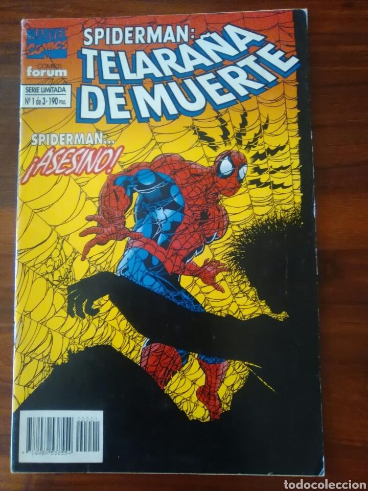 SPIDERMAN - TELARAÑA DE MUERTE - SERIE LIMITADA - MARVEL - FORUM (Tebeos y Comics - Forum - Spiderman)