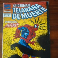 Cómics: SPIDERMAN - TELARAÑA DE MUERTE - SERIE LIMITADA - MARVEL - FORUM. Lote 28321947