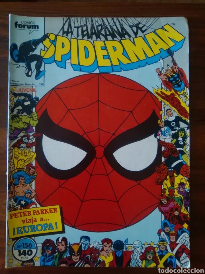 LA TELARAÑA DE - SPIDERMAN - VOLUMEN 1 - NUMERO 156 - MARVEL COMICS - COMICS FORUM (Tebeos y Comics - Forum - Spiderman)