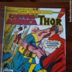Cómics: MARVEL TWO-IN-ONE - CAPITÁN AMÉRICA - THOR - 56 - MARVEL COMICS - FORUM. Lote 67887409
