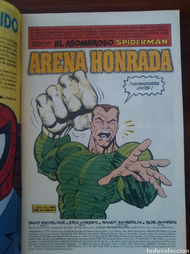 Cómics: AMAZING SPIDER-MAN - NÚMERO 276 - VOL 1 - MARVEL - FORUM - Foto 2 - 70551497