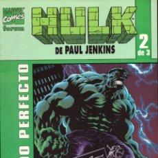 Cómics: COMIC HULK DE PAUL JENKINS: PASADO PERFECTO: Nº 2 DE 3 - FORUM MARVEL COMICS. Lote 124264511
