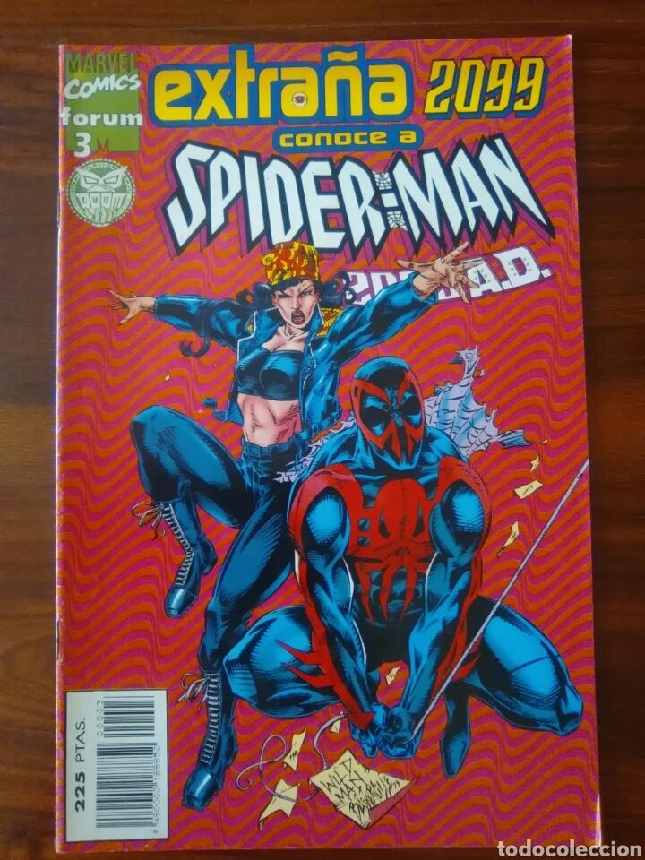 EXTRAÑA 2099 - NUMERO 3 - SPIDERMAN 2099 - MARVEL COMICS - COMICS FORUM - BUEN ESTADO (Tebeos y Comics - Forum - Otros Forum)