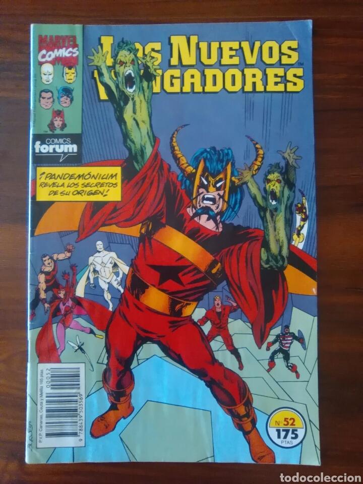 LOS NUEVOS VENGADORES - 52 - NEW AVENGERS - VOL 1 - MARVEL - FORUM (Tebeos y Comics - Forum - Vengadores)