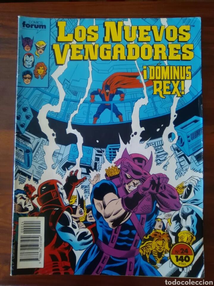 LOS NUEVOS VENGADORES - 24 - NEW AVENGERS - VOL 1 - MARVEL - FORUM (Tebeos y Comics - Forum - Vengadores)