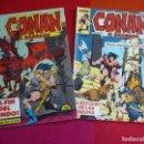 Cómics: CONAN EL BARBARO VOL. 1 NºS 107 Y 108 ¡BUEN ESTADO! MARVEL FORUM RED SONJA. Lote 124529059