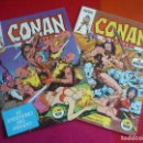 Cómics: CONAN EL BARBARO VOL. 1 NºS 66 Y 67 ( THOMAS BARRY SMITH ) ¡MUY BUEN ESTADO! MARVEL FORUM. Lote 124530319