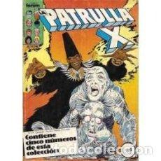 Cómics: TOMO RETAPADO PATRULLA-X VOL. I 1ª EDICIÓN 37-41. Lote 124610523
