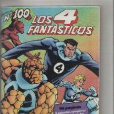 Fumetti: LOS CUATRO FANTASTICOS –AÑO 1990-FORUM-COLOR-FORMATO GRAPA-Nº100 ESPECIAL-EN LA CORRIENTE DEL TIEMPO. Lote 124657127