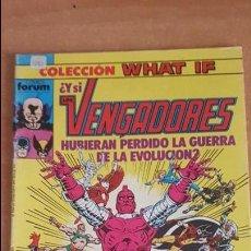 Comics: WHAT IF VOL.1 Nº8 - ¿Y SI LOS VENGADORES HUBIESEN PERDIDO LA GUERRA DE LA EVOLUCIÓN? - FORUM. Lote 229653470