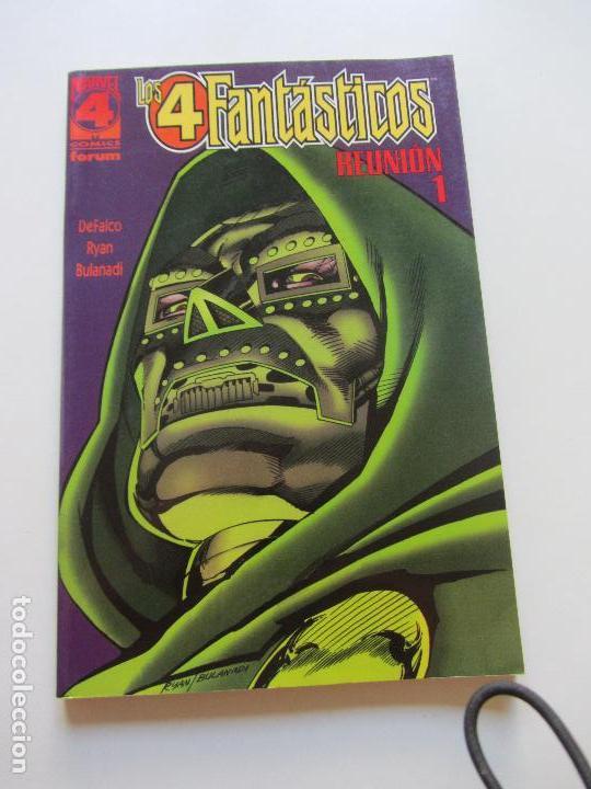 LOS 4 FANTASTICOS REUNION 1 (DEFALCO / RYAN / BULANADI) - PLANETA FORUM CS130 (Tebeos y Comics - Forum - Prestiges y Tomos)