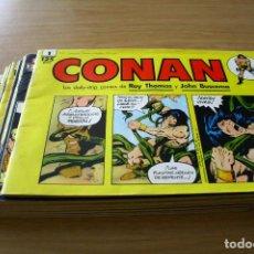 Cómics: CONAN LOS DAILY-STRIP COMICS - TIRAS DE PRENSA- DEL 1 AL 11 - FORUM. Lote 125084675