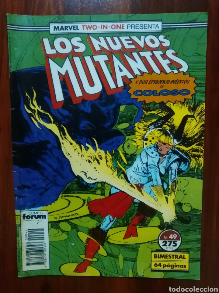 Cómics: LOS NUEVOS MUTANTES - 49 - NEW MUTANTS - VOLUMEN 1 - MARVEL COMICS - FORUM - Foto 1 - 61446683