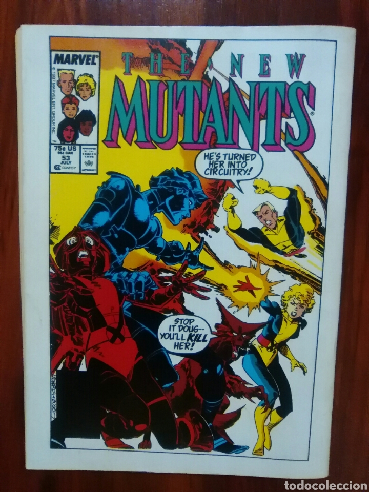 Cómics: LOS NUEVOS MUTANTES - 49 - NEW MUTANTS - VOLUMEN 1 - MARVEL COMICS - FORUM - Foto 3 - 61446683