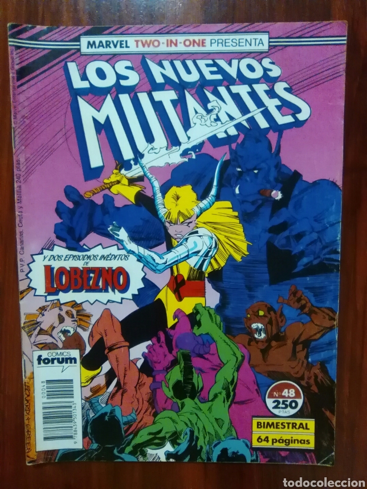 Cómics: LOS NUEVOS MUTANTES - 48 - NEW MUTANTS - VOLUMEN 1 - MARVEL COMICS - FORUM - Foto 1 - 61447631