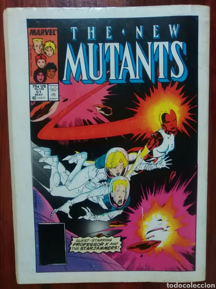 Cómics: LOS NUEVOS MUTANTES - 48 - NEW MUTANTS - VOLUMEN 1 - MARVEL COMICS - FORUM - Foto 3 - 61447631
