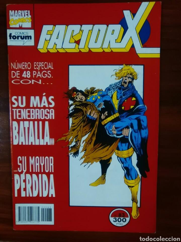 FACTOR X - 83 - VOLUMEN 1 - VOL 1 - X-FACTOR - MARVEL COMICS - FORUM (Tebeos y Comics - Forum - Factor X)