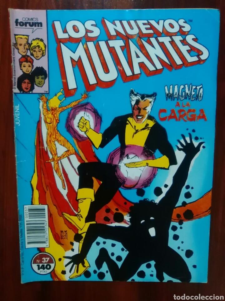 LOS NUEVOS MUTANTES - NÚMERO 37 - VOL 1 - MARVEL COMICS - FORUM (Tebeos y Comics - Forum - Nuevos Mutantes)
