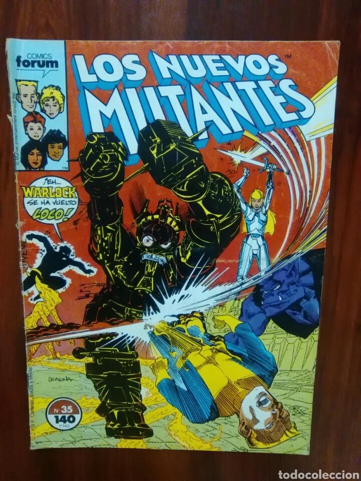 Cómics: LOS NUEVOS MUTANTES - NÚMERO 35 - VOL 1 - MARVEL COMICS - FORUM - Foto 2 - 69815173
