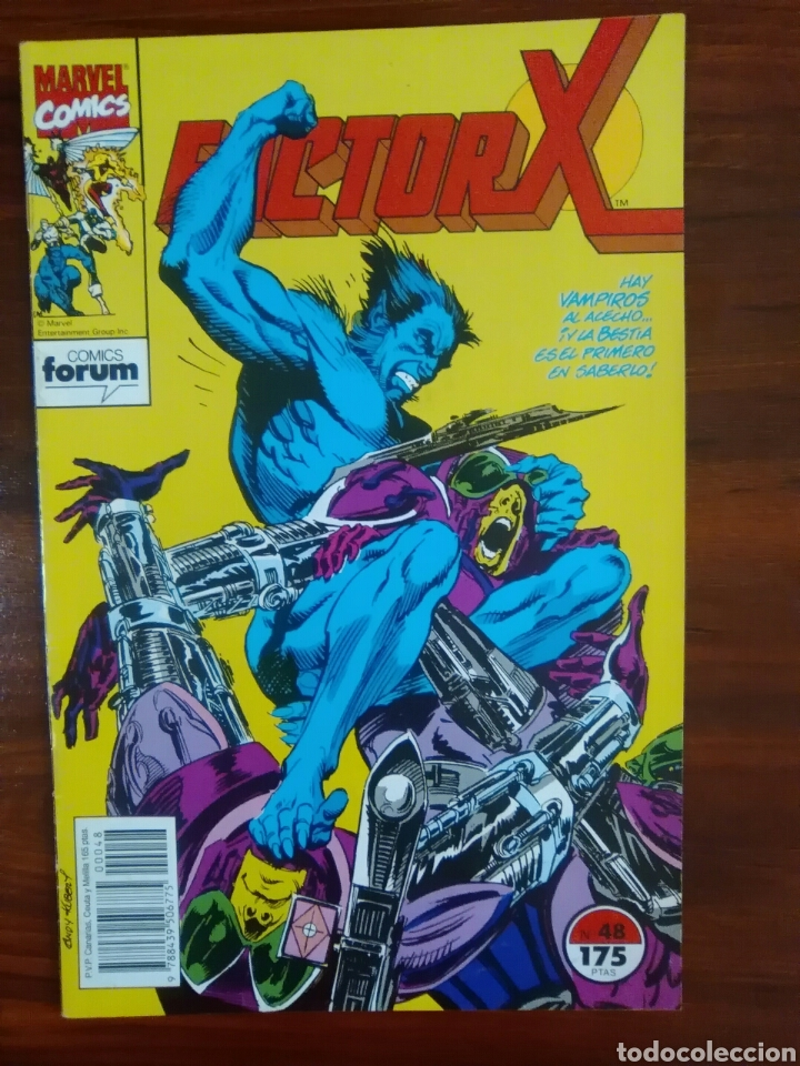 FACTOR X - 48 - VOLUMEN 1 - VOL 1 - X-FACTOR - MARVEL COMICS - FORUM (Tebeos y Comics - Forum - Factor X)