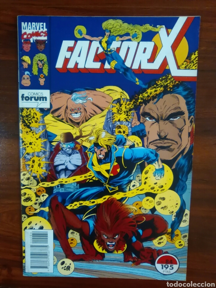 FACTOR X - 84 - VOLUMEN 1 - VOL 1 - X-FACTOR - MARVEL COMICS - FORUM (Tebeos y Comics - Forum - Factor X)