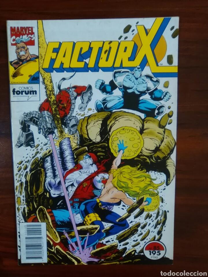 FACTOR X - NÚMERO 85 - VOL 1 - MARVEL CÓMICS - FORUM (Tebeos y Comics - Forum - Factor X)