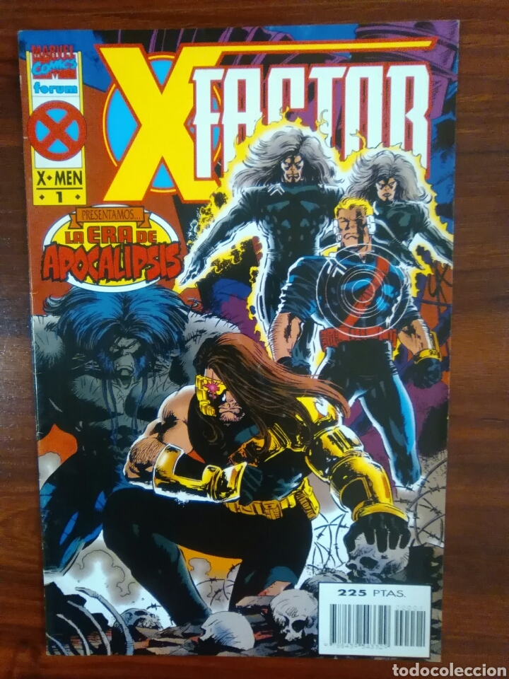 X-FACTOR - NÚMERO 1 - X-MEN - MARVEL CÓMICS - FORUM (Tebeos y Comics - Forum - Factor X)