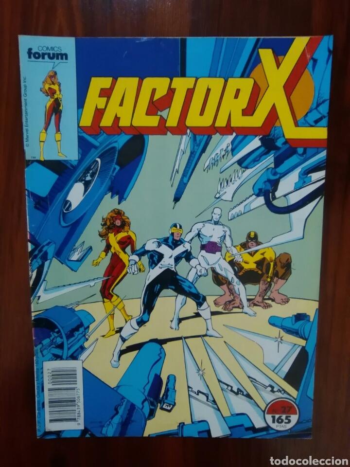FACTOR X - 27 - VOLUMEN 1 - VOL 1 - X-FACTOR - MARVEL COMICS - FORUM (Tebeos y Comics - Forum - Factor X)