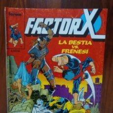 Cómics: FACTOR X - NÚMERO 4 - VOL 1 - MARVEL CÓMICS - FORUM. Lote 68799581