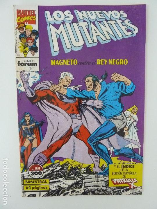 NUEVOS MUTANTES. Nº 59. FORUM (Tebeos y Comics - Forum - Nuevos Mutantes)