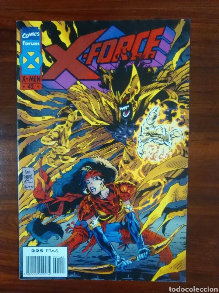 X-FORCE - NÚMERO 42 - VOL 1 - MARVEL CÓMICS - FORUM (Tebeos y Comics - Forum - X-Men)