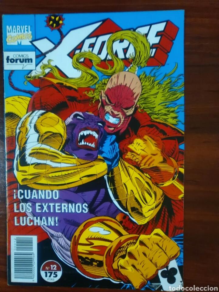 X-FORCE - NÚMERO 12 - VOL 1 - MARVEL CÓMICS - FORUM (Tebeos y Comics - Forum - X-Men)