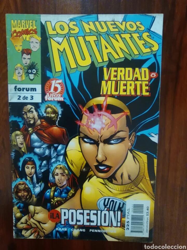 LOS NUEVOS MUTANTES - VERDAD O MUERTE - NÚMERO 3 - MARVEL - FORUM (Tebeos y Comics - Forum - Nuevos Mutantes)