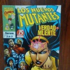 Cómics: LOS NUEVOS MUTANTES - VERDAD O MUERTE - NÚMERO 3 - MARVEL - FORUM. Lote 69985349