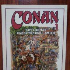 Cómics: CONAN - NUMERO 1 - BARRY WINDSOR-SMITH - ROY THOMAS - NOVELA GRAFICA - FORUM - COMO NUEVO. Lote 47170274