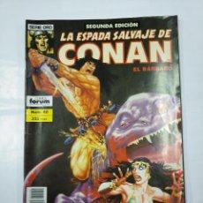 Cómics: LA ESPADA SALVAJE DE CONAN EL BARBARO. Nº 40. SEGUNDA EDICION. SERIE ORO FORUM COMICS. TDKC32. Lote 125863123