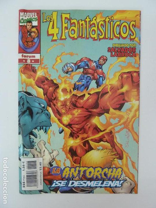LOS 4 FANTÁSTICOS. VOL. 3 Nº 8 (Tebeos y Comics - Forum - 4 Fantásticos)