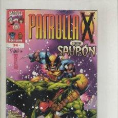 Cómics: LA PATRULLA X-AÑO 1997-FORUM-VOL.2-COLOR-FORMATO GRAPA-Nº 34-PREHISTORIA. Lote 125996023