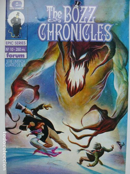 FORUM. THE BOZZ CHRONICLES. Nº 10. EPIC SERIES. (Tebeos y Comics - Forum - Otros Forum)
