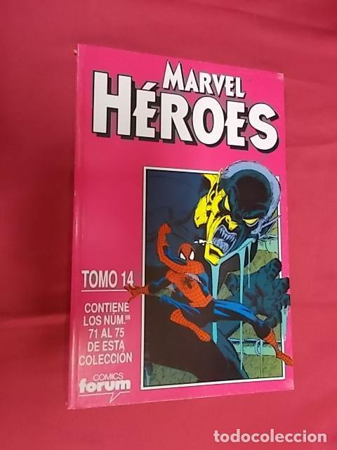 MARVEL HÉROES. TOMO 14. RETAPADO DEL Nº 71 AL 75. FORUM (Tebeos y Comics - Forum - Retapados)