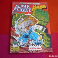 Cómics: ALPHA FLIGHT VOL. 1 Nº 56 ( MANTLO DAVID ) ¡BUEN ESTADO! FORUM MARVEL TWO IN ONE HULK LA MASA. Lote 126152139