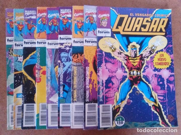 QUASAR COMPLETA 9 NUMEROS - FORUM (Tebeos y Comics - Forum - Otros Forum)