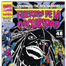 Cómics: FUERZAS DE LA OSCURIDAD: SPIDERMAN / THE NEW WARRIORS NUMERO 4 DE 4. Lote 126317063