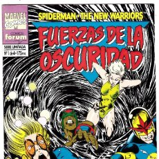 Cómics: FUERZAS DE LA OSCURIDAD: SPIDERMAN / THE NEW WARRIORS NUMERO 1 DE 4. Lote 126317135