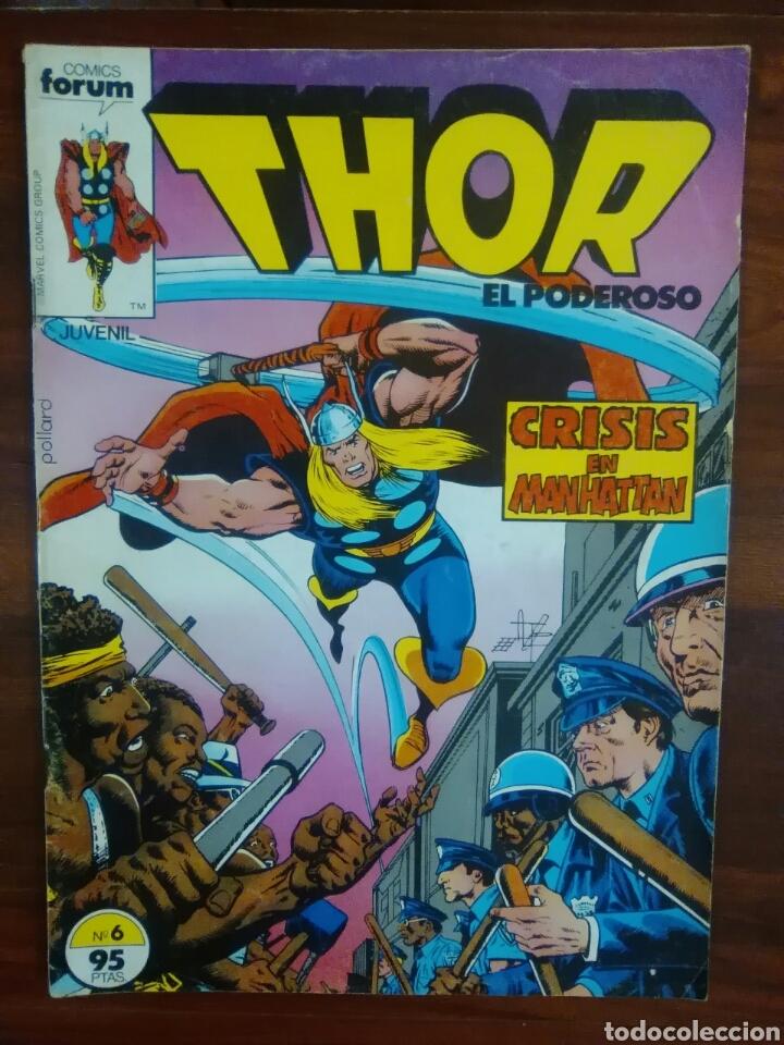THOR - EL DIOS DEL TRUENO - VOLUMEN 1 - NUMERO 6 - MARVEL COMICS - FORUM (Tebeos y Comics - Forum - Thor)