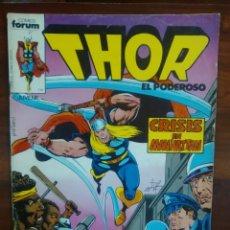 Cómics: THOR - EL DIOS DEL TRUENO - VOLUMEN 1 - NUMERO 6 - MARVEL COMICS - FORUM. Lote 45074831