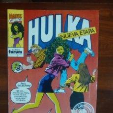 Cómics: HULKA - SERIE REGULAR - MARVEL COMICS - COMICS FORUM - DIFICIL DE ENCONTRAR. Lote 45088647