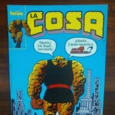 Cómics: LA COSA - SERIE REGULAR - MARVEL COMICS - COMICS FORUM - DIFICIL DE ENCONTRAR. Lote 45089012